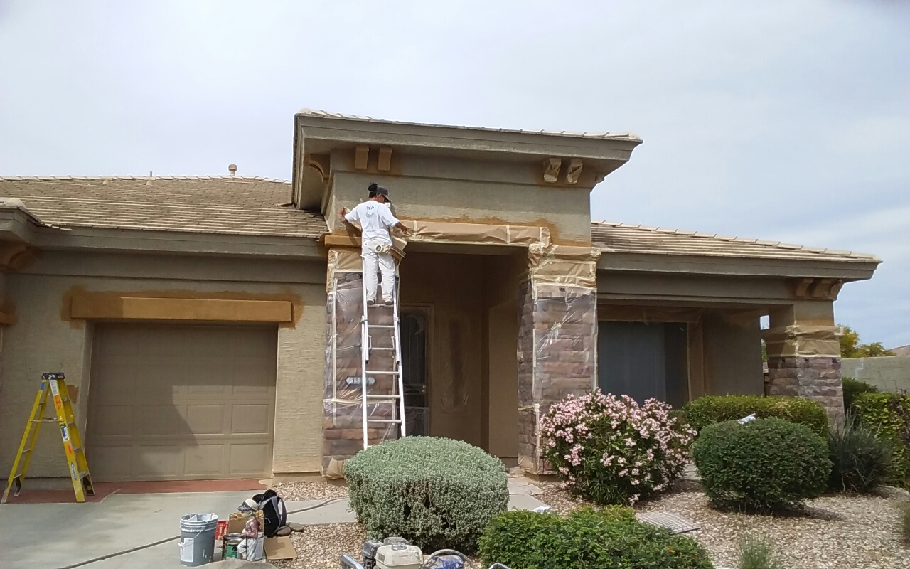 Exterior House Painting at it's best.